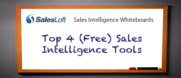 Top 4 (Free) Sales Intelligence Tools