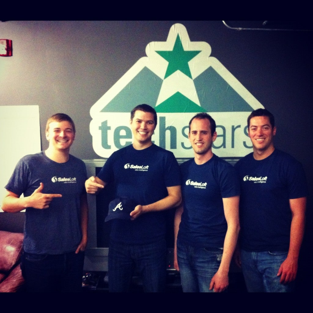 SalesLoft Represents Atlanta at TechStars Boulder
