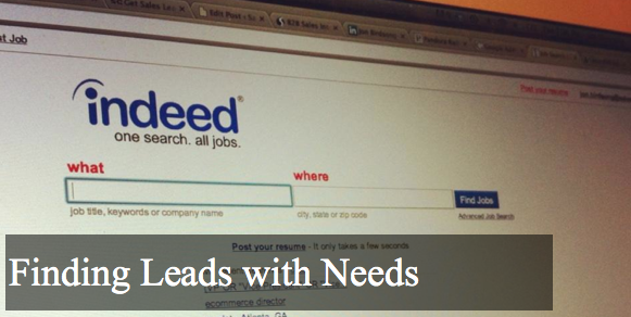 Sales Source Leads | How to Find Leads with Needs