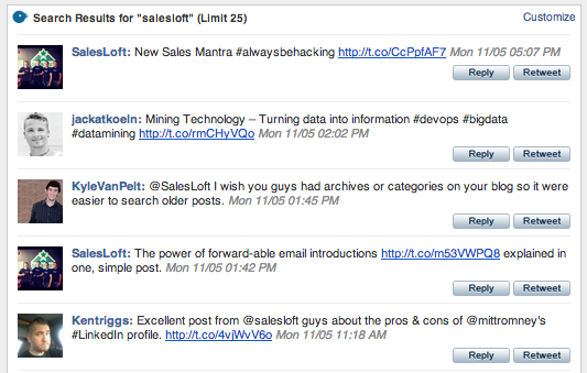 New B2B Sales Tool | Nutshell Mail for Twitter