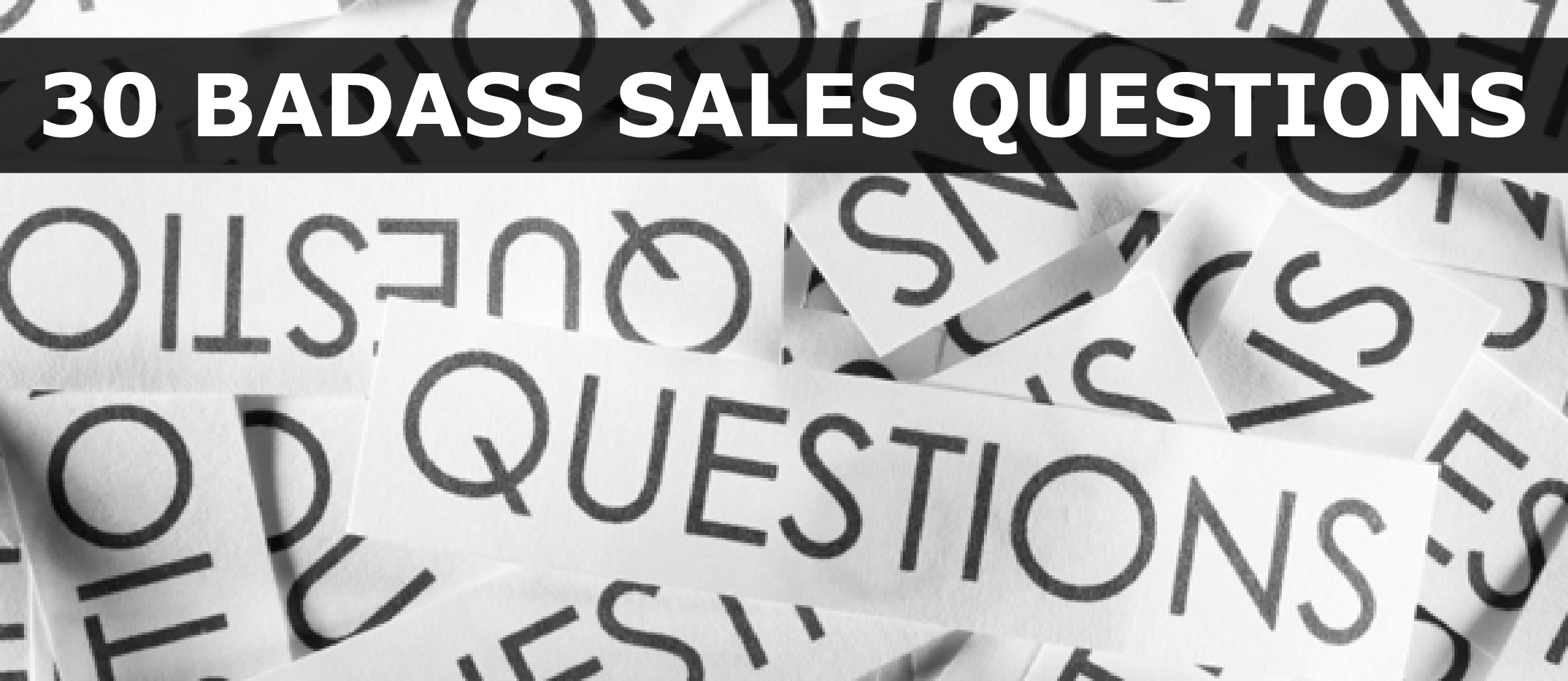 sales questions Don't let the excitement of a new opportunity lead you to hasty decisions when you receive a job offer in sales, it's time to examine the details and determine if the new position is right for you.
