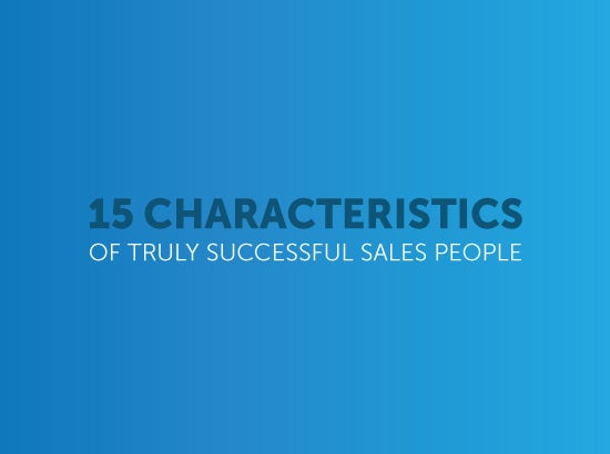 the characteristics that are important for a salesperson to be successful Are you an entrepreneur hiring salespeople for your start-up company here are the 5 characteristics of successful salespeople you should look for.