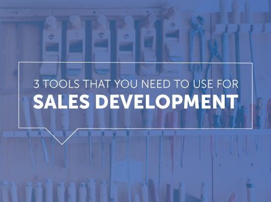 sales development tools