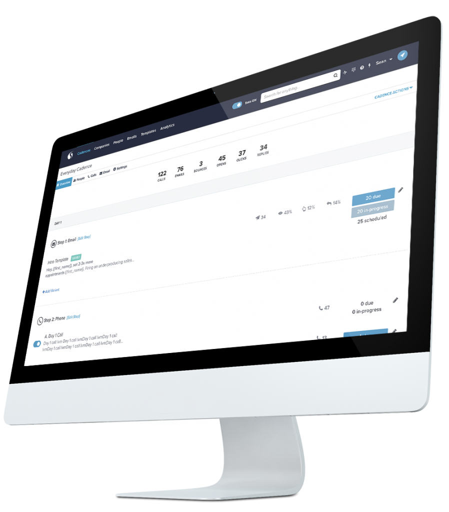 SalesLoft provides the only true multichannel sales communication platform, helping to turn prospect accounts into customer accounts with phone, sales emails, and more.