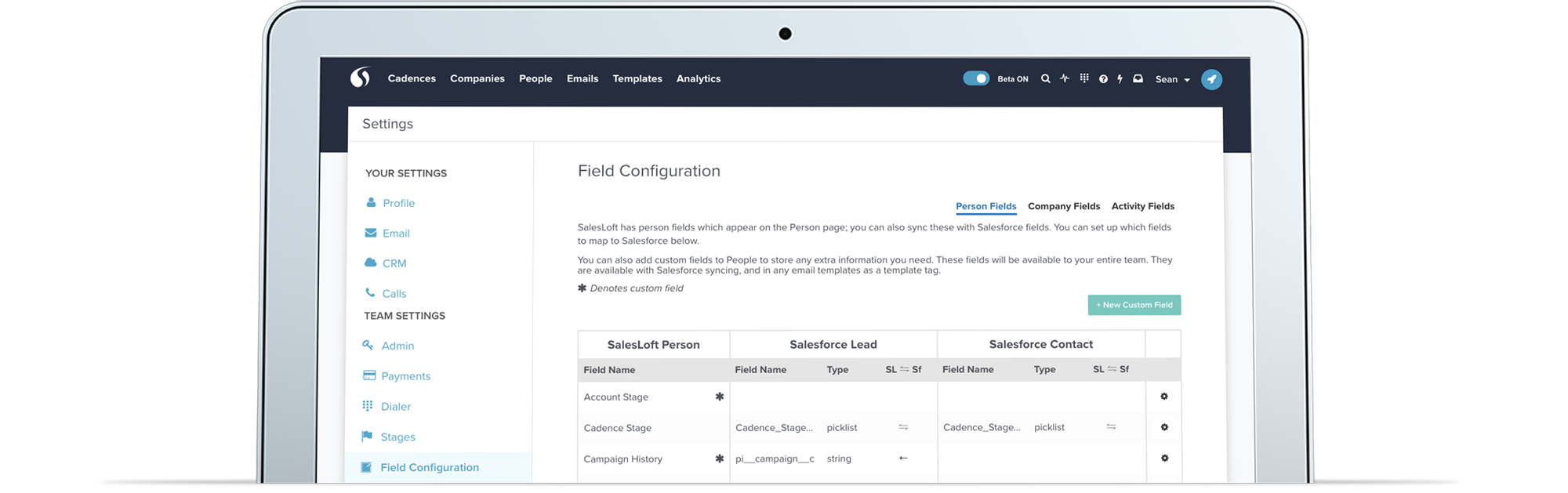 salesloft-salesforce
