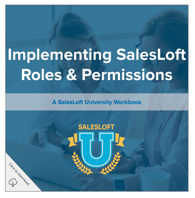 SLU - Roles & Permissions Workbook
