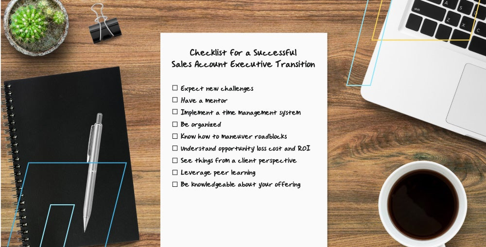 Checklist for a Successful Sales Account Executive Transition