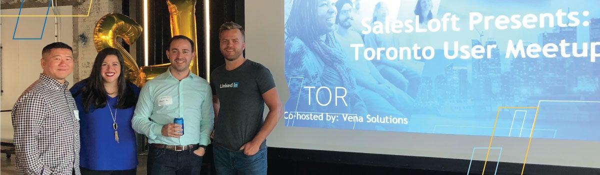 SalesLoft Toronto User Meetups