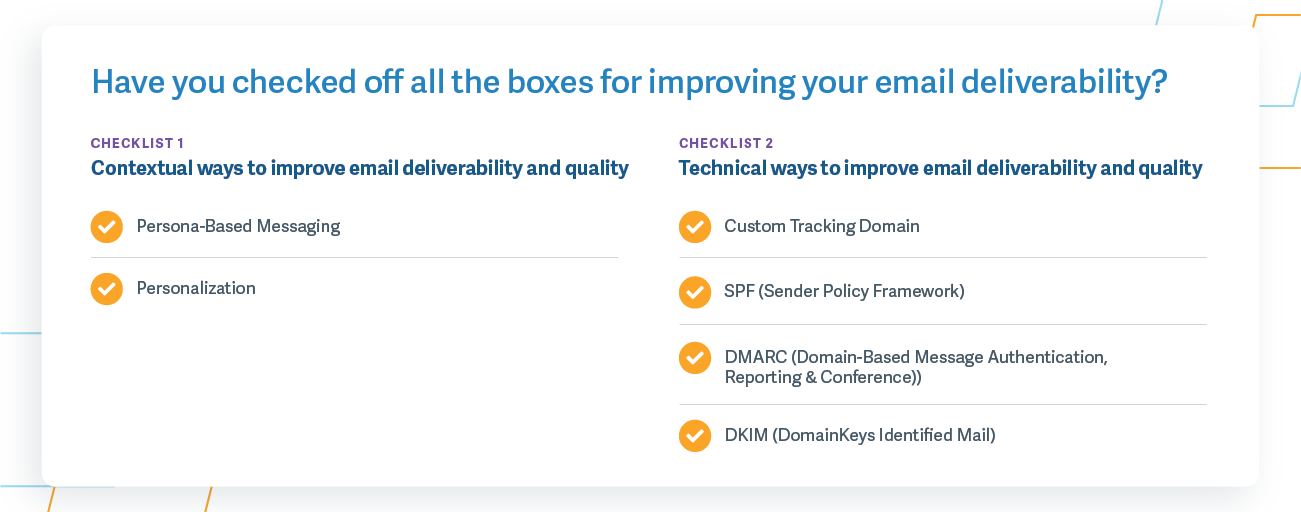 Contextual + Technical Ways to Improve Email Deliverability and Quality