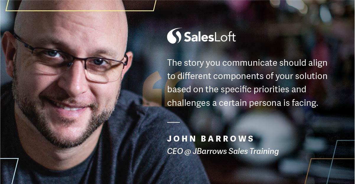 John Barrows at SalesLoft's Rainmaker