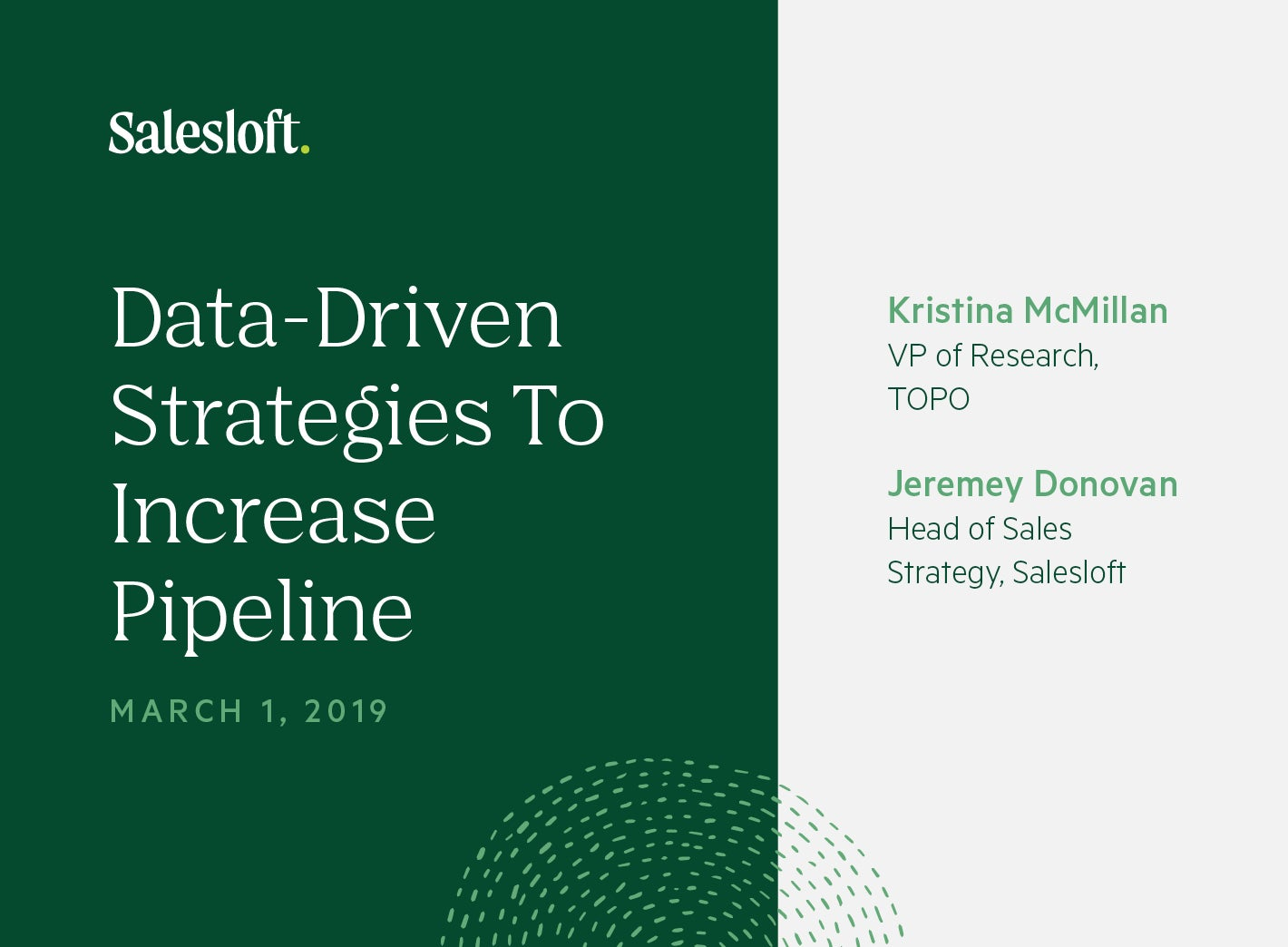 Data-Driven Strategies To Increase Pipeline