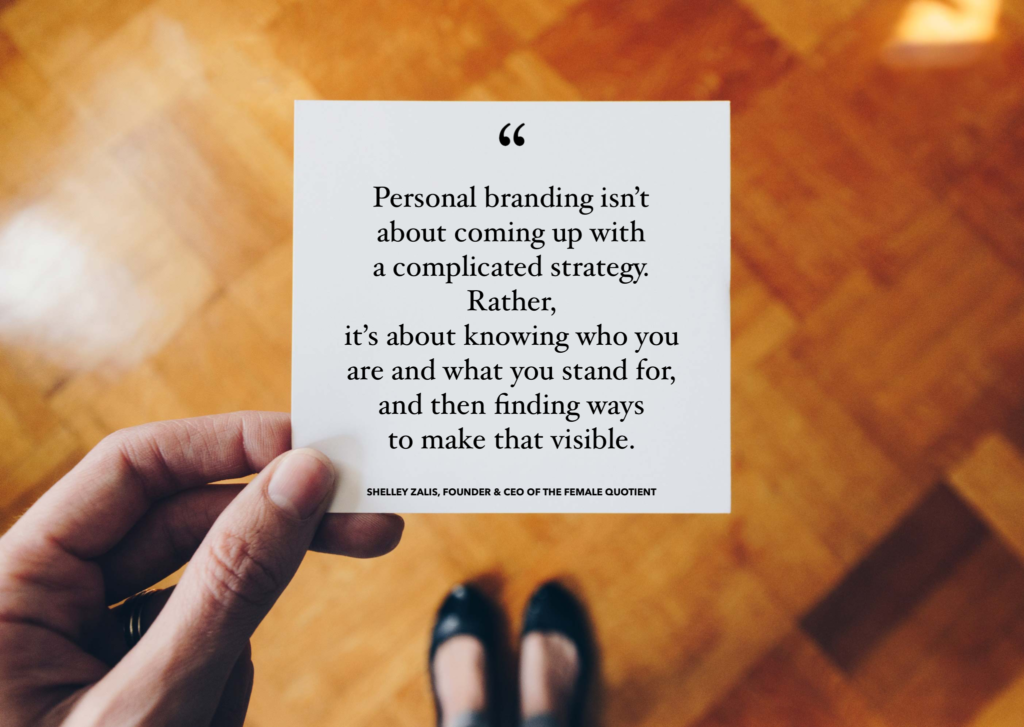 Shelley Zalis on personal branding