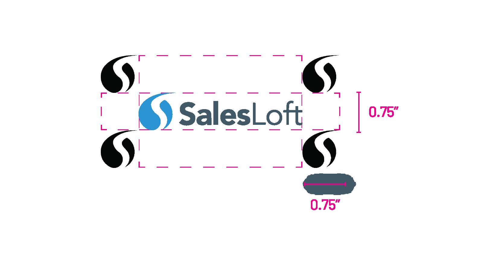 SalesLoft logo safe area