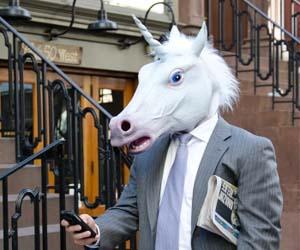 unicorn businessman