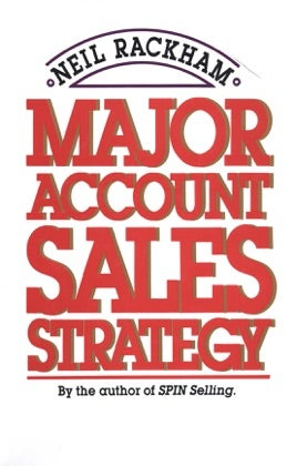 major account sales strategy sales book