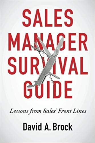 sales manager survival guide sales book