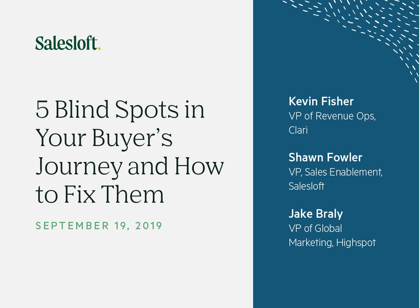 5 Blind Spots in Your Buyer's Journey and How to Fix Them