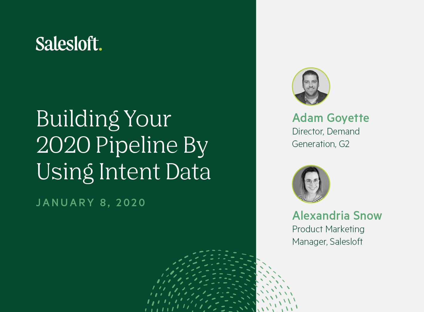 Building Your 2020 Pipeline By Using Intent Data