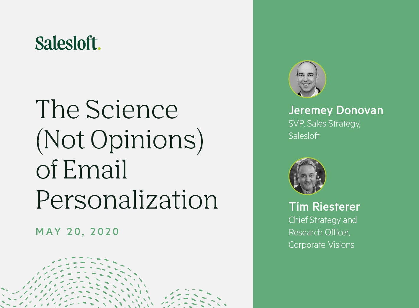 The Science — Not Opinions — of Email Personalization