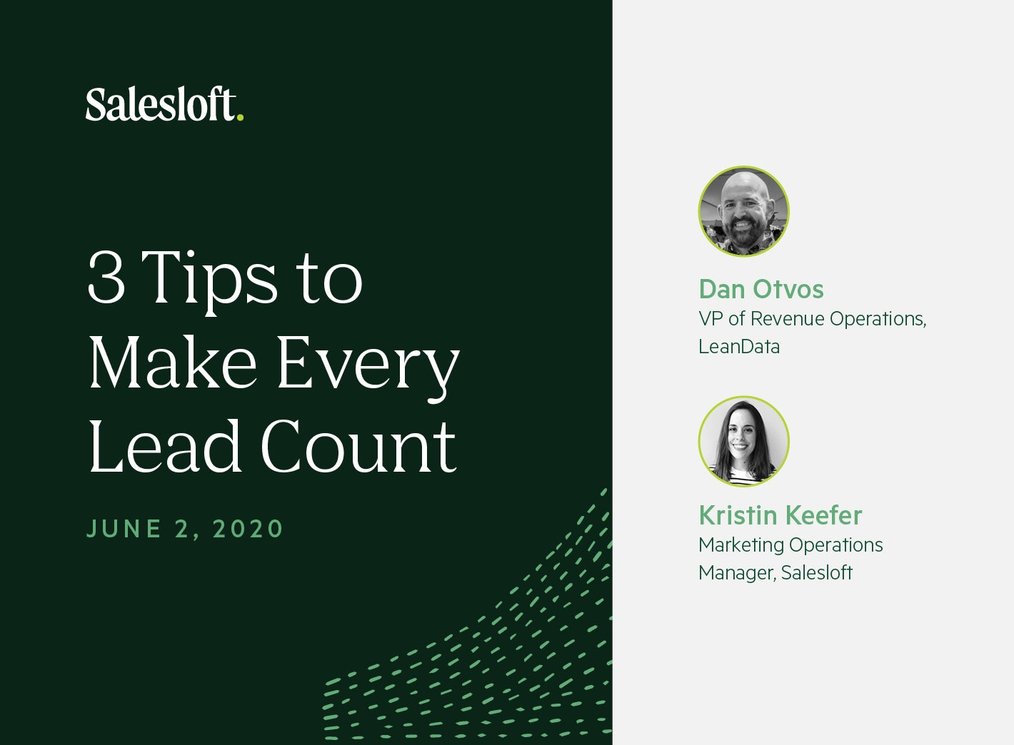 3 Tips to Make Every Lead Count