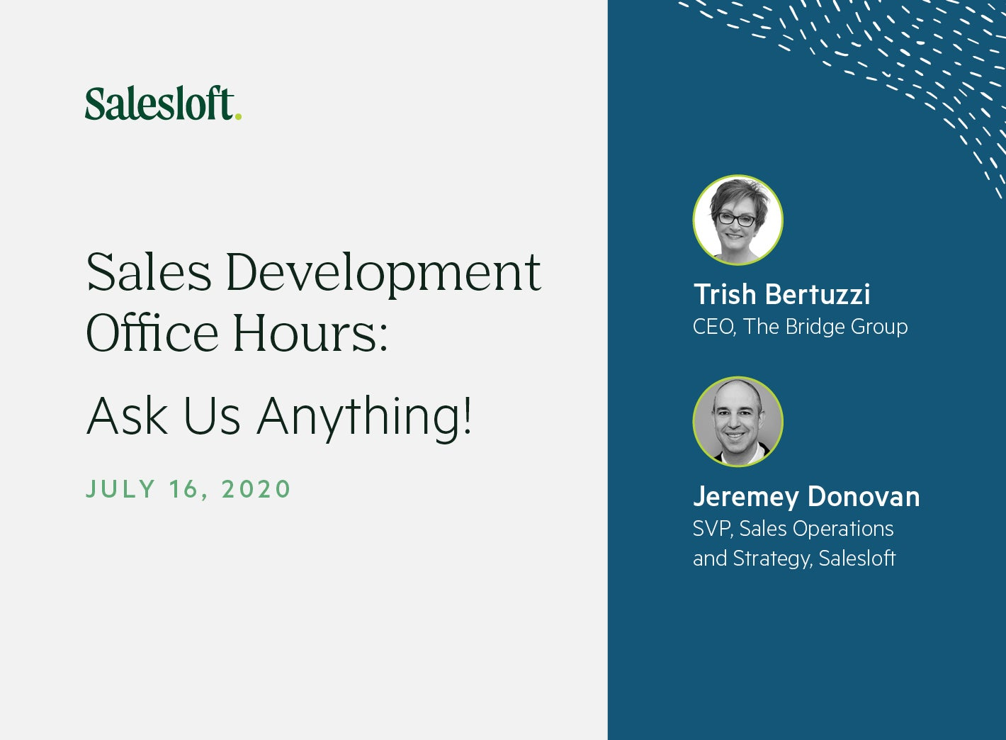 Sales Development Office Hours: Ask Us Anything
