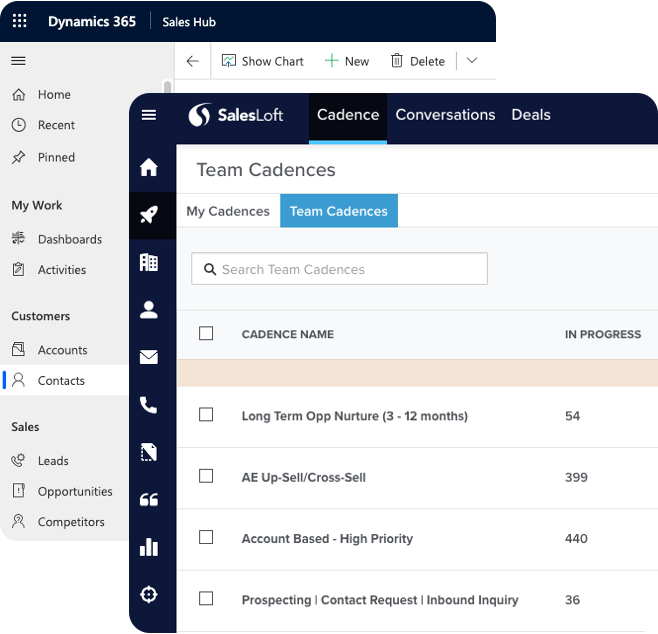 salesloft dynamics 365 integration