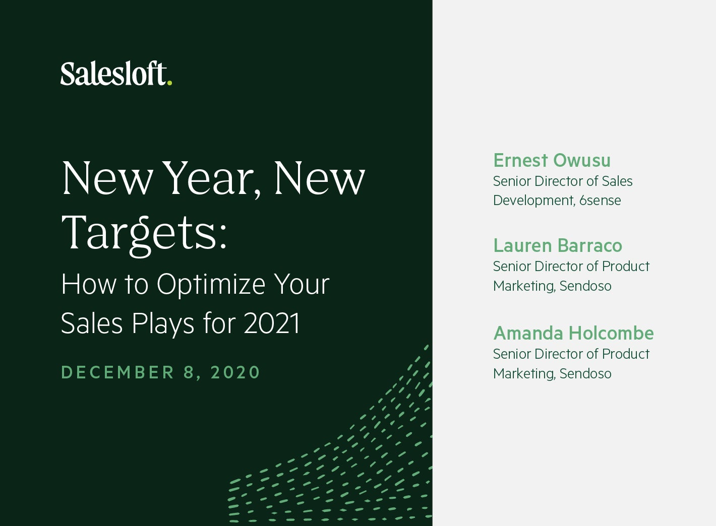 New Year, New Targets: How to Optimize Your Sales Plays for 2021