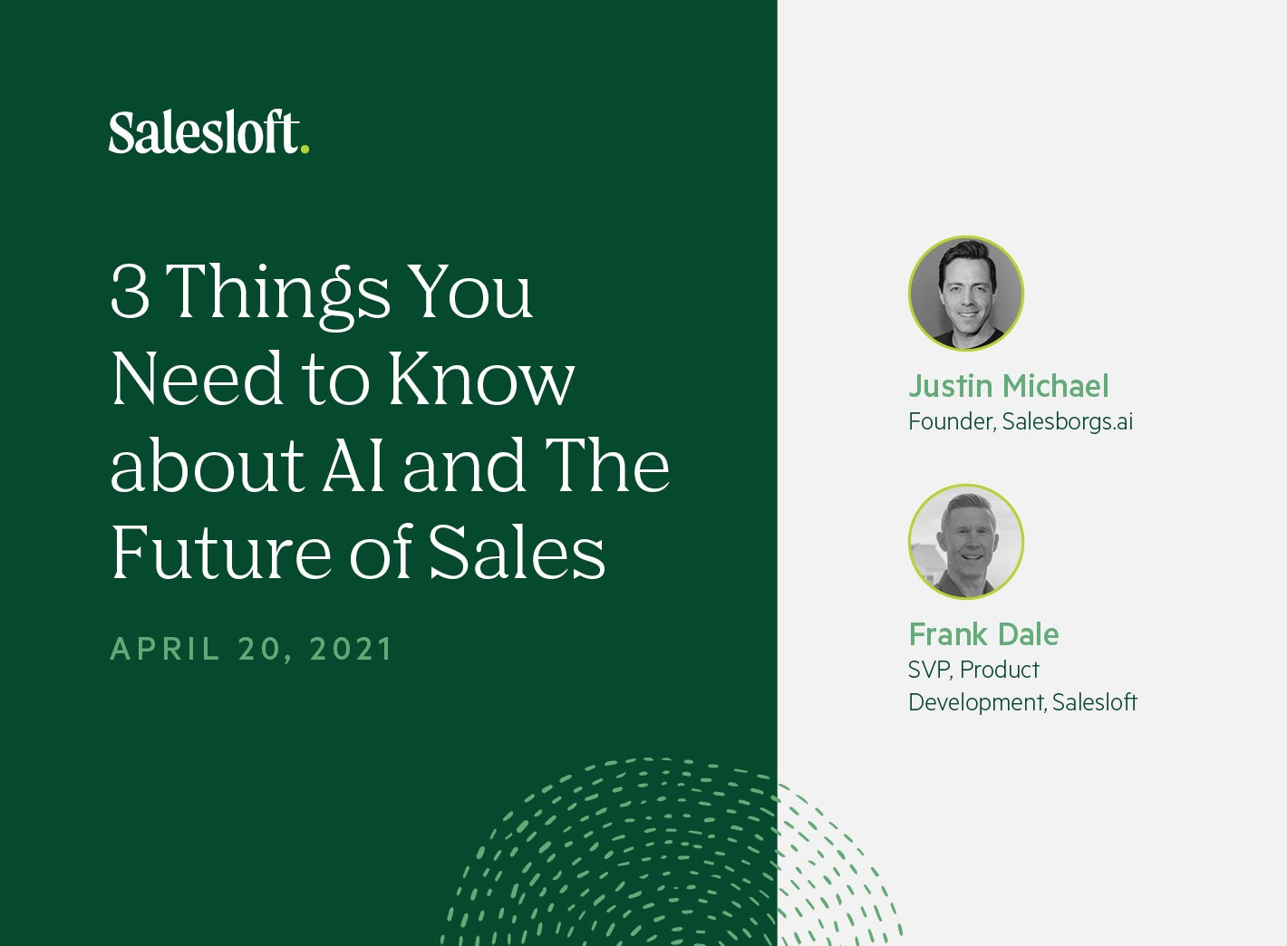3 Things You Need to Know about AI and the Future of Sales
