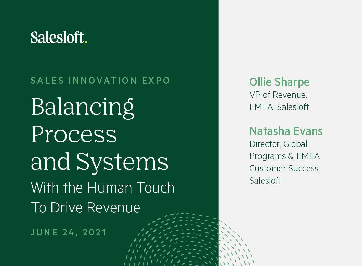 Balancing Process and Systems with the Human Touch To Drive Revenue