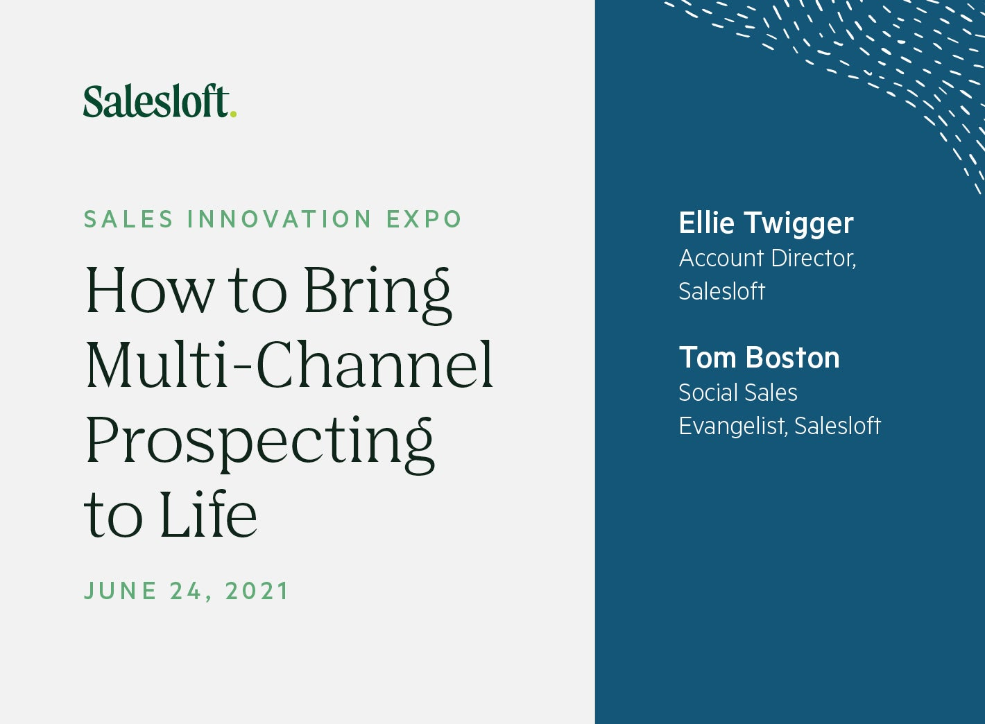 How To Bring Multi-Channel Prospecting to Life