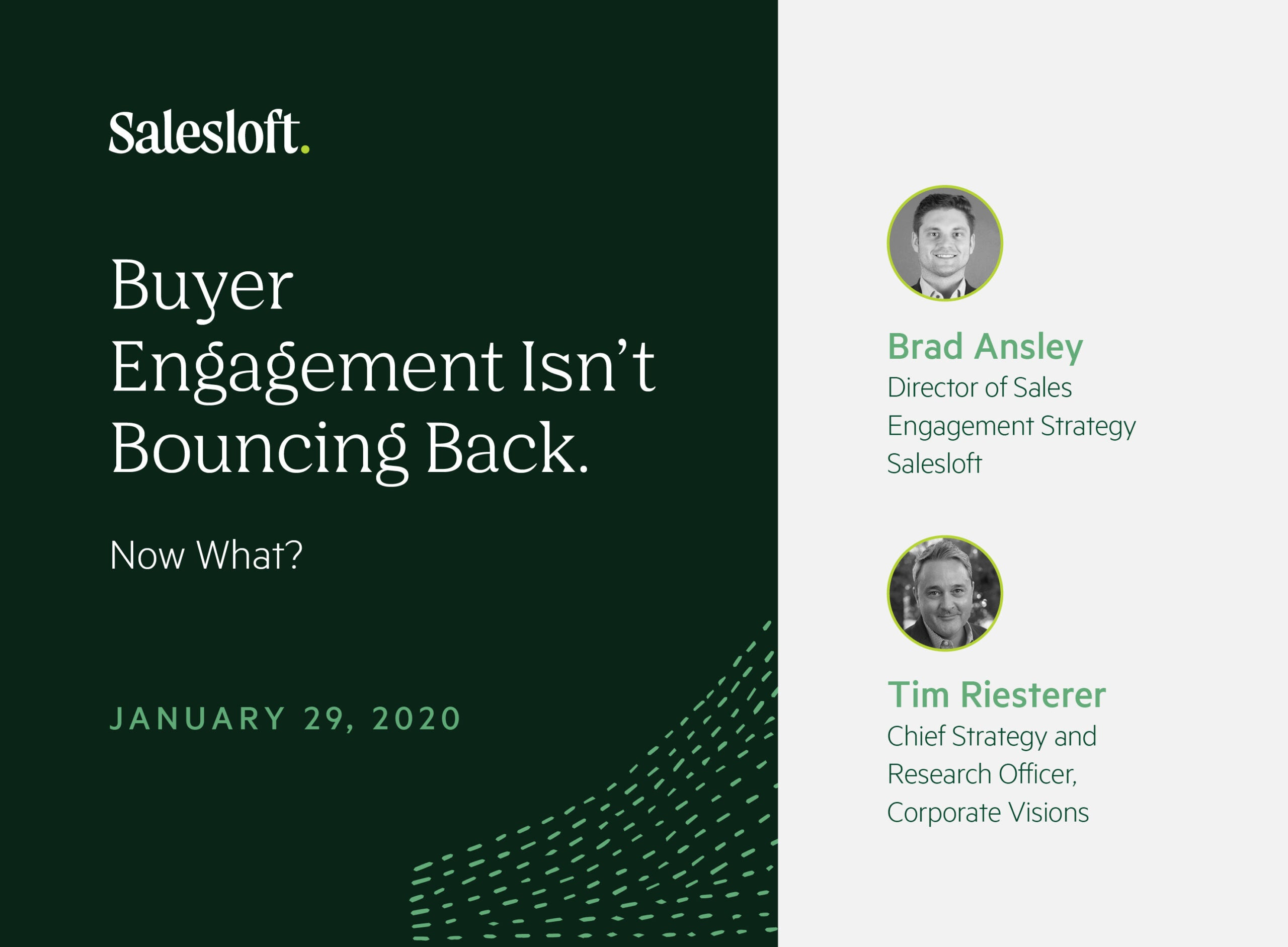 Buyer Engagement Isn't Bouncing Back. Now What?